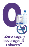 ZERO Out Sugary Beverages &amp; Tobacco!
