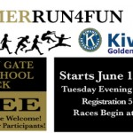 Kiwanis Summer Run4Fun 2013