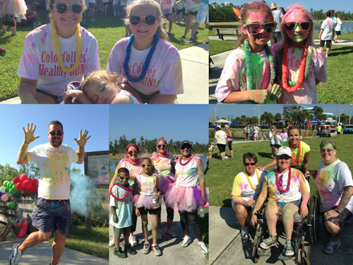 First Annual Color Collier Healthy Run – 630+ participants – THANK YOU!