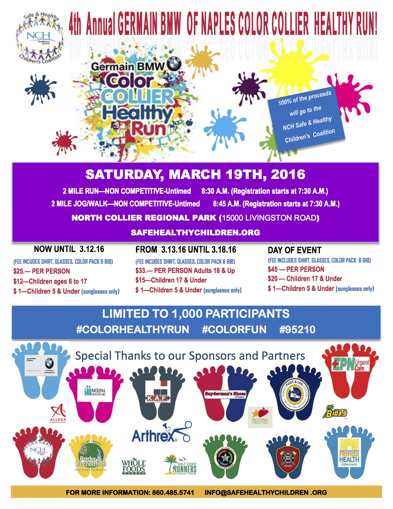 Sign Up For The 4th Annual Germain Bmw Of Naples Color