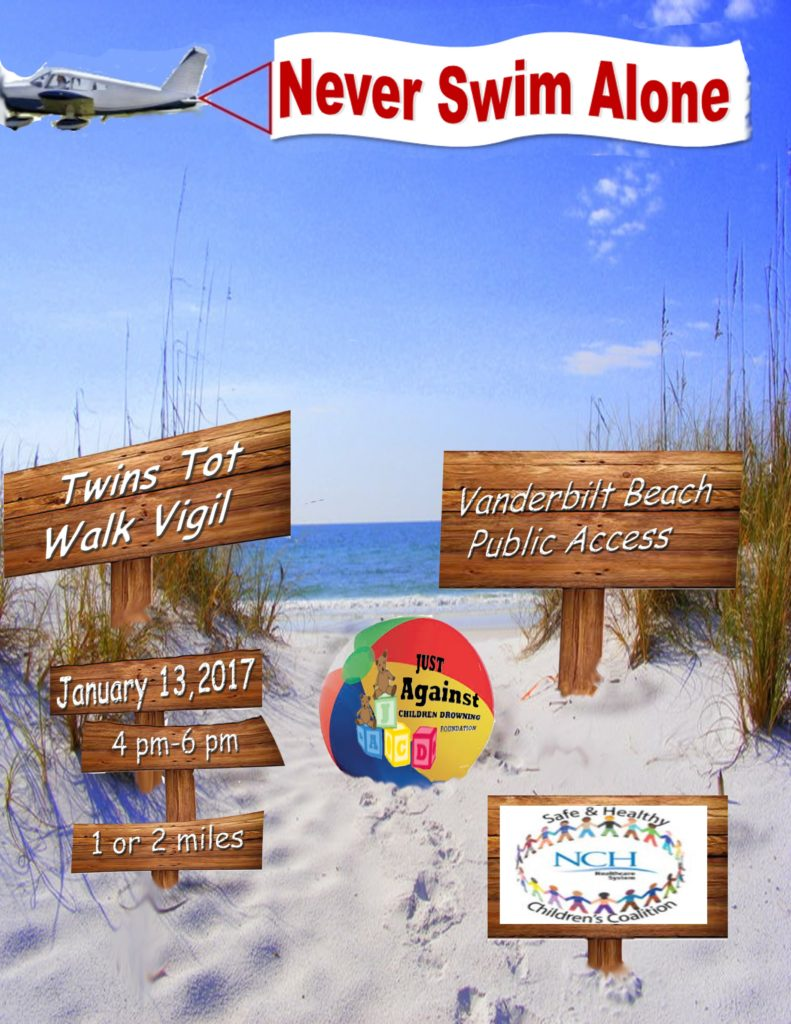 5th Annual Twins Tot Walk Beach Vigil @ TBA  | Naples | Florida | United States